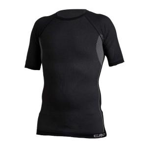 ביגוד סמפ לגברים CMP  Underwear T-shirt Seamless - שחור