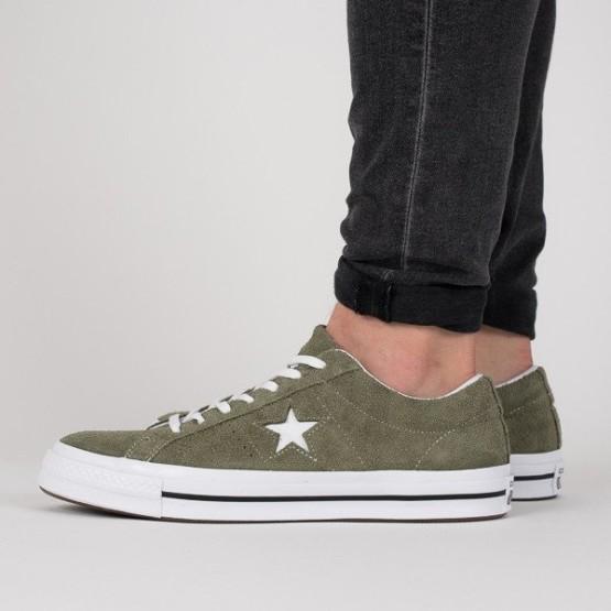 נעליים קונברס לגברים Converse One Star - ירוק