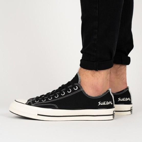 נעליים קונברס לגברים Converse Suicidal Tendencies Chuck 70 OX - שחור
