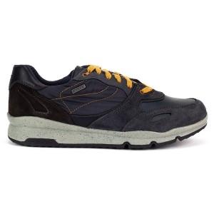 נעליים ג'יאוקס לגברים Geox Sandford Abx - אפור/צהוב