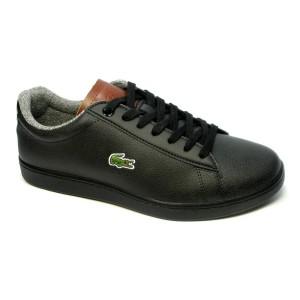 נעליים לקוסט לגברים LACOSTE Carnaby - שחור