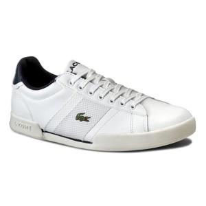 נעליים לקוסט לגברים LACOSTE Deston 316 1 Smp - לבן