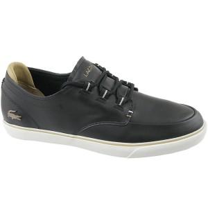 נעליים אלגנטיות לקוסט לגברים LACOSTE Esparre Deck - שחור