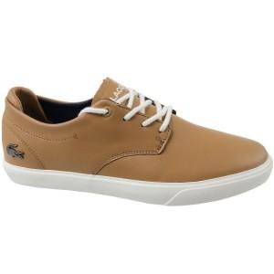נעליים אלגנטיות לקוסט לגברים LACOSTE Esparre - חרדל