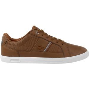 נעליים לקוסט לגברים LACOSTE Europa 417 Spm DK Brw - חום