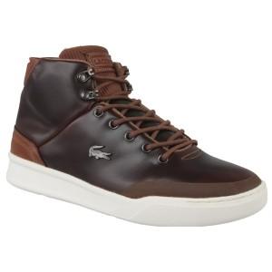 נעליים לקוסט לגברים LACOSTE Explorateur Classic - חום