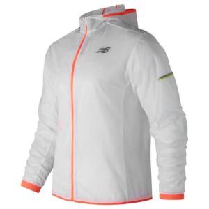 בגדי חורף ניו באלאנס לגברים New Balance Light Pack - לבן/כתום