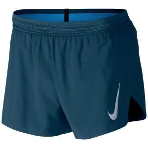 ביגוד נייק לגברים Nike  Aeroswift 4 Inch - ירוק