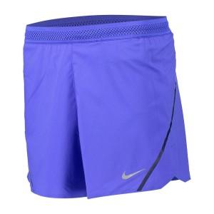 ביגוד נייק לגברים Nike  Aeroswift 5 Inches Short Pants - סגול