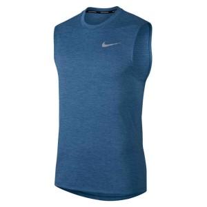 ביגוד נייק לגברים Nike  Breathe Miler Cool - כחול