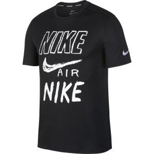 ביגוד נייק לגברים Nike  Breathe Run GX - שחור