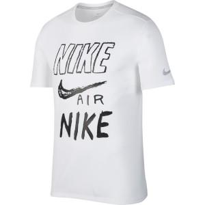 ביגוד נייק לגברים Nike  Breathe Run GX - לבן