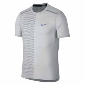 ביגוד נייק לגברים Nike  Breathe Tailwind Print - לבן