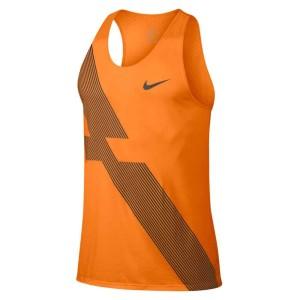 ביגוד נייק לגברים Nike  Breathe Tank City - כתום