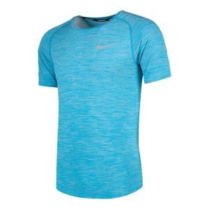 ביגוד נייק לגברים Nike  Dri Fit Knit Top S/S - טורקיז