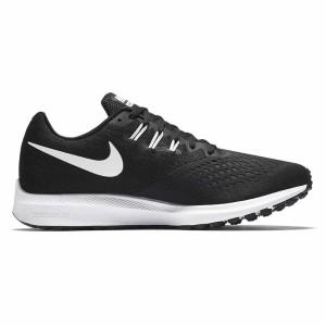 נעליים נייק לגברים Nike  Zoom Winflo 4 - שחור/לבן