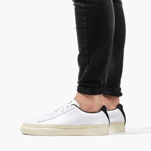 נעליים פומה לגברים PUMA Basket Trim - לבן