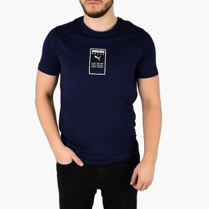 ביגוד פומה לגברים PUMA Brand Place Tee - כחול