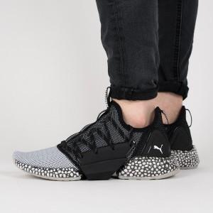 נעליים פומה לגברים PUMA Hybrid Rocket Runner - שחור/אפור
