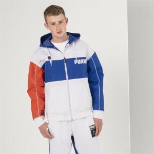 בגדי חורף פומה לגברים PUMA X Ader Error - כחול/לבן