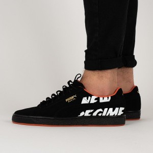 נעליים פומה לגברים PUMA x Atelier New Regime Suede - שחור