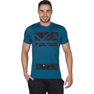 ביגוד ריבוק לגברים Reebok RCF Poly Blend G1  - כחול