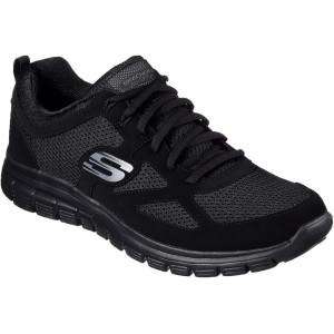 נעלי אימון סקצ'רס לגברים Skechers Burns - שחור