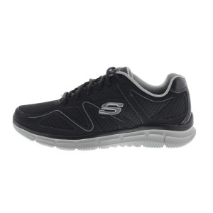 נעליים סקצ'רס לגברים Skechers Satisfaction Flesh Point - שחור