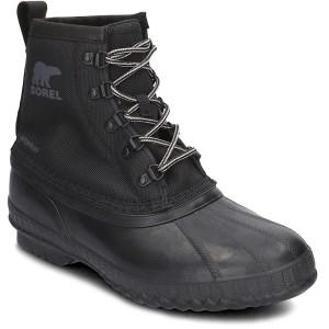 מגפיים סורל לגברים Sorel Cheyanne II Short Nylon - שחור