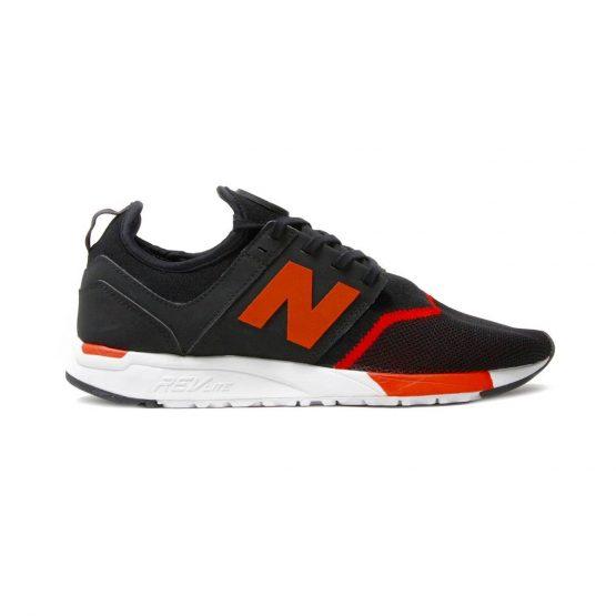 נעלי סניקרס ניו באלאנס לגברים New Balance MRL247 - שחור/אדום
