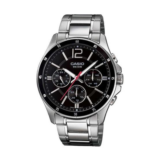 שעון קסיו לגברים CASIO MTP_1374D - שחור