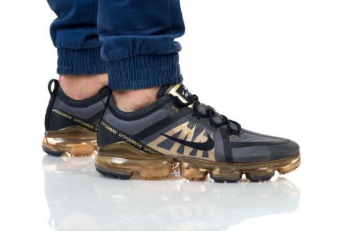 נעליים נייק לגברים Nike Air Vapormax 2019 - שחור/צהוב