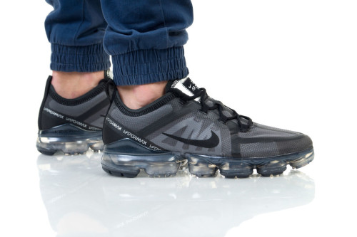 נעליים נייק לגברים Nike Air Vapormax 2019 - אפור/שחור