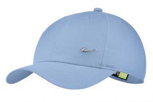 כובע נייק לגברים Nike METAL SWOOSH - תכלת