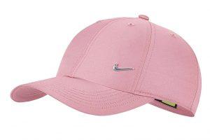 כובע נייק לגברים Nike METAL SWOOSH - ורוד בהיר
