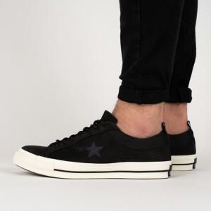 נעליים קונברס לגברים Converse One Star OX Sierra - שחור