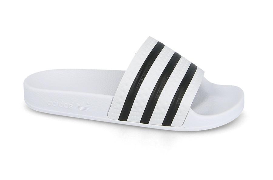 כפכפים Adidas Originals לנשים Adidas Originals Adilette - לבן