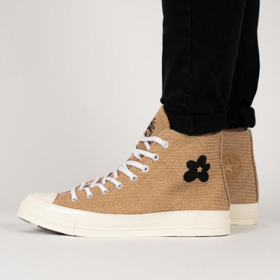 נעליים קונברס לנשים Converse Chuck 70 Hi x Golf Le Fleur High Top - בז'