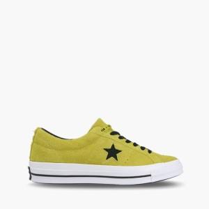 נעליים קונברס לנשים Converse One Star Dark Vintage Suede - ליים
