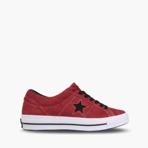 נעליים קונברס לנשים Converse One Star Dark Vintage Suede - אדום