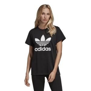 ביגוד Adidas Originals לנשים Adidas Originals Boyfriend Trefoil - שחור