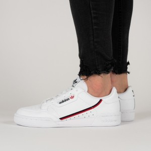 נעליים Adidas Originals לנשים Adidas Originals Continental 80 - לבן/אדום