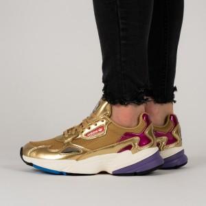 נעליים Adidas Originals לנשים Adidas Originals Falcon - חום