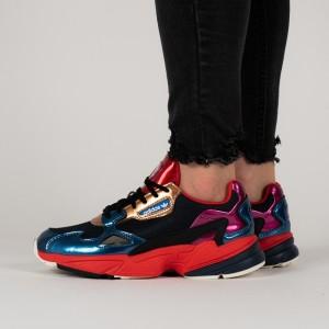 נעליים Adidas Originals לנשים Adidas Originals Falcon - כחול כהה