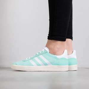 נעליים Adidas Originals לנשים Adidas Originals Gazelle Primeknit - טורקיז