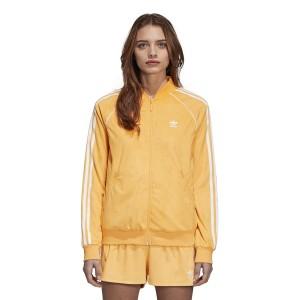 בגדי חורף Adidas Originals לנשים Adidas Originals SST Track - צהוב