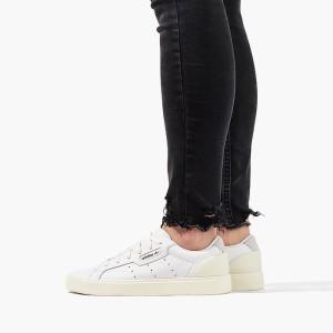 נעליים Adidas Originals לנשים Adidas Originals Sleek - לבן