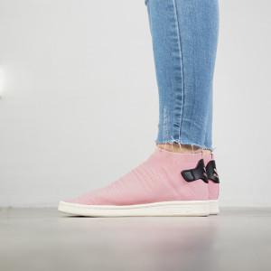 נעליים Adidas Originals לנשים Adidas Originals Stan Smith Sock Primeknit - ורוד בהיר