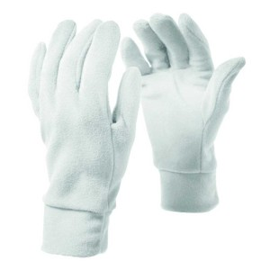 אביזרי ביגוד סמפ לנשים CMP  Fleece Gloves - לבן