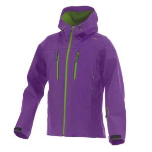 ביגוד סמפ לנשים CMP  Ski Jacket Fix Hood - סגול